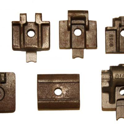 Cast iron bottom plates for 678 slider chains