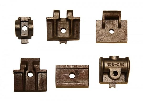 Cast iron bottom plates for 458/658 slider chains