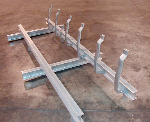 Support Steel With Hangers