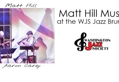 Matt Hill Music at the WJS Jazz Brunch September 1