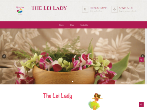 The Lei Lady.
