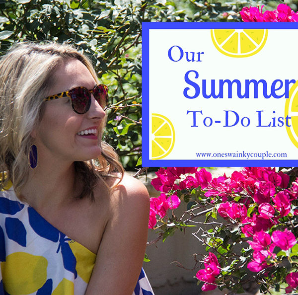 Lemon Print and Our Summer To-Do List