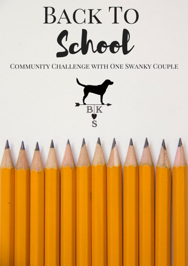 Back to School Community Challenge