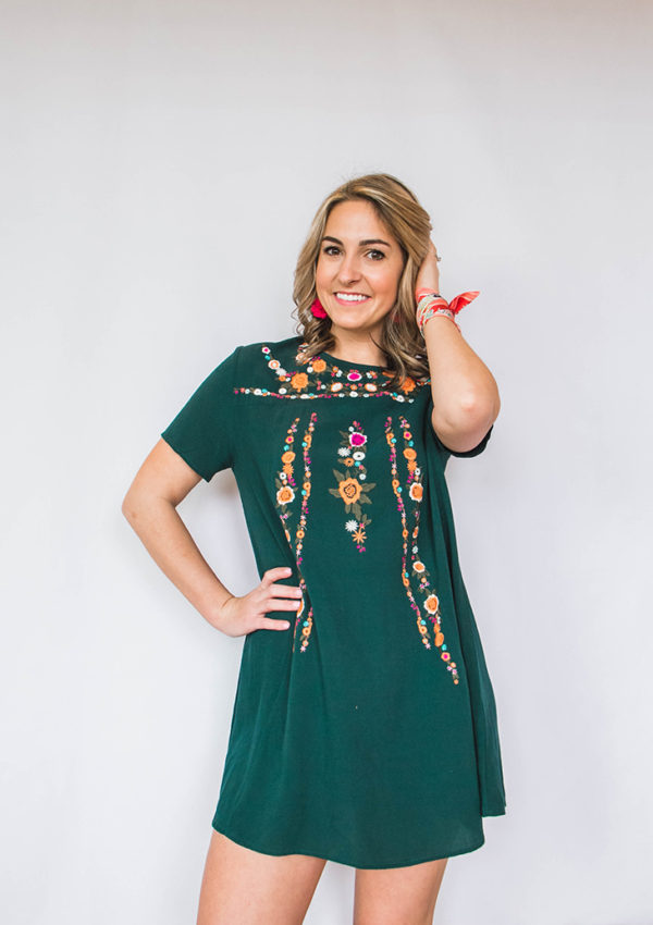 The Embroidered Dress Trend