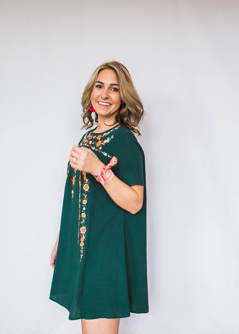 Embroidered Dress Trend 8