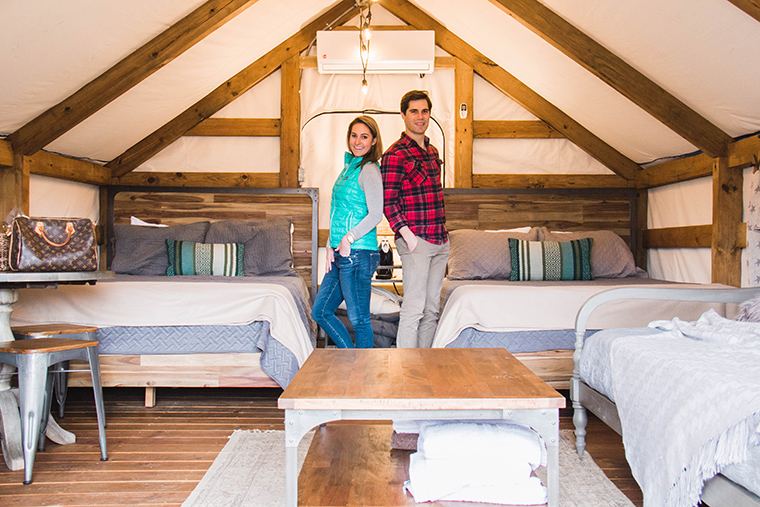 Glamping For Two In Texas - One Swainky Couple