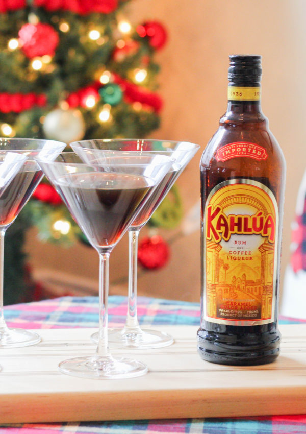 Holiday Dessert Party With Cold Brew Kahlua Martinis