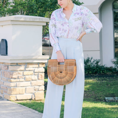 Pastel Colors & Wide Leg Pants