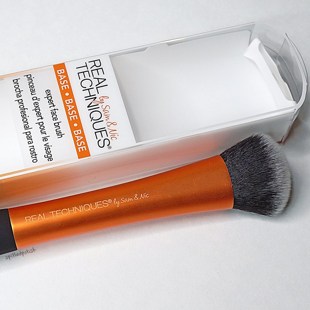 Real Techniques Expert Face Brush Review Spilledpolish