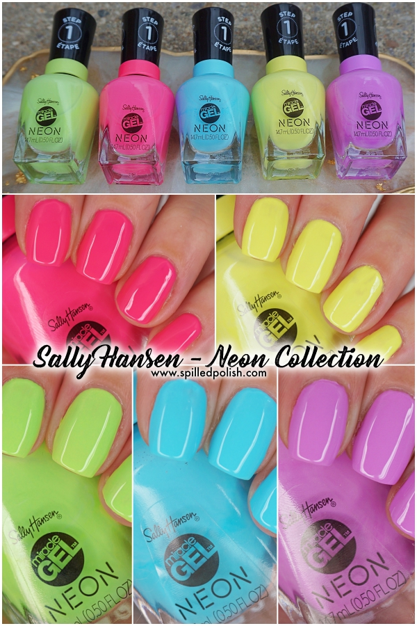 Sally Hansen - Miracle Gel Neon Collection