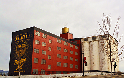 An Icon of The Dalles - The Sunshine Mill Winery