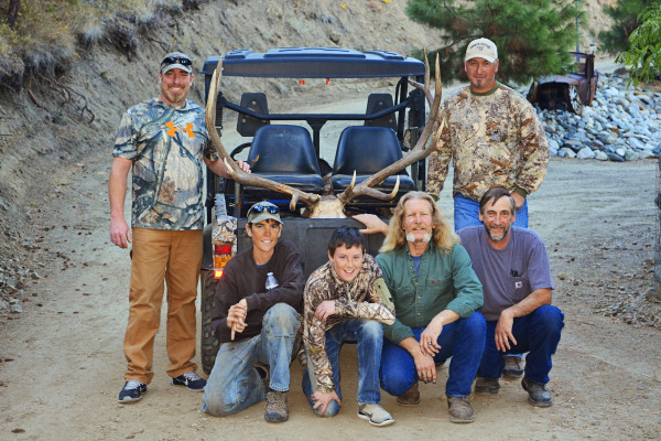 Business Owners Donate Time and Effort for Hunt of a Lifetime