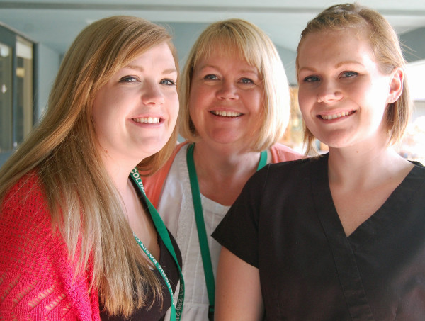 Mother and Daughters Work with Commitment & Compassion