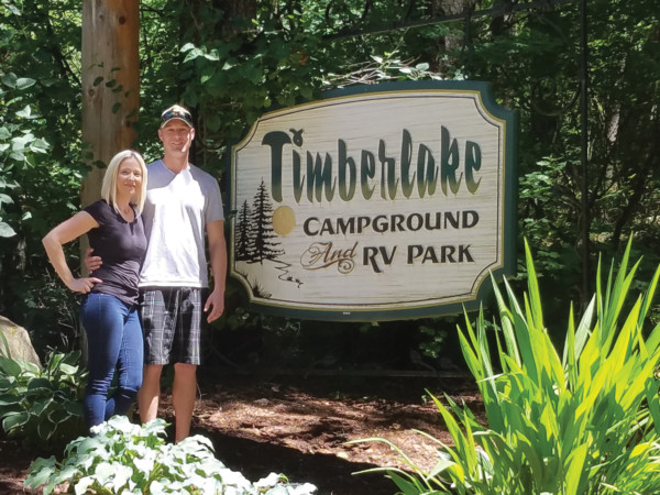 New Owners at Timberlake Campground and RV Park