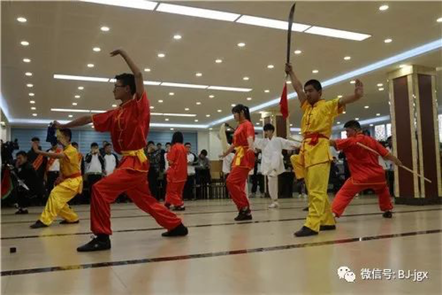 Chinese Traditional Martial Arts Performance