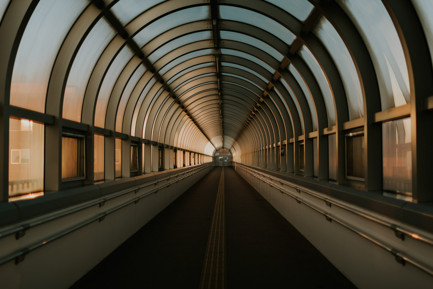 Image of walking tunnel