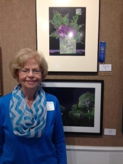 Doris Mee awarded first place in Mixed Media