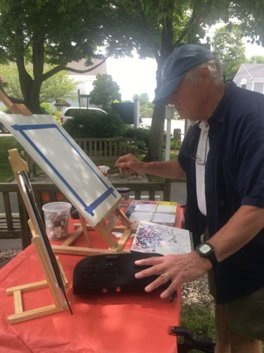 Plein-Air Painting Event at the Nickerson Family Association