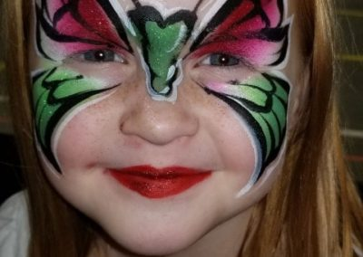 Bling it on Parties - Butterfly Face Painting