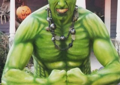 Bling it on Parties - Hulk Face Painting and Body Art