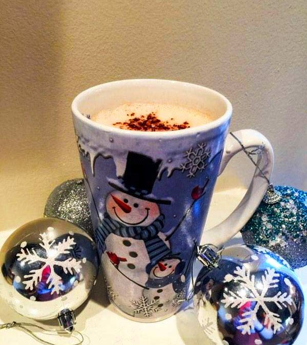 Keto Peppermint Mocha Latte