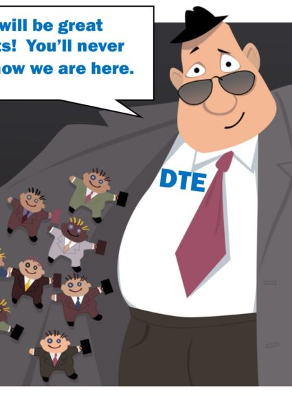 DTE — the Bully on the Bus