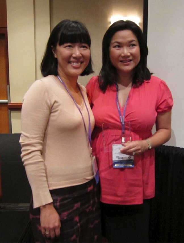 Judy Lin and Pamela Wu, 2010