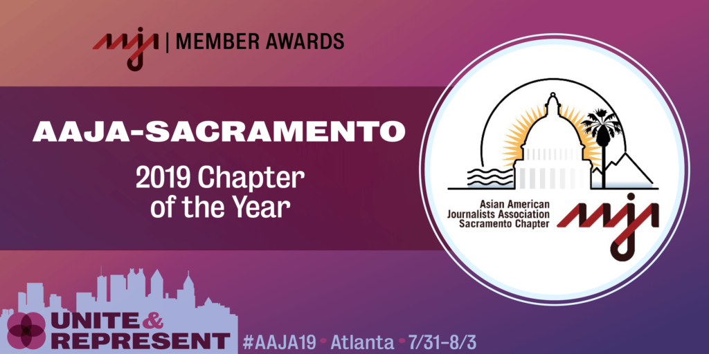 AAJA Sacramento is AAJA's chapter of the year for 2019.
