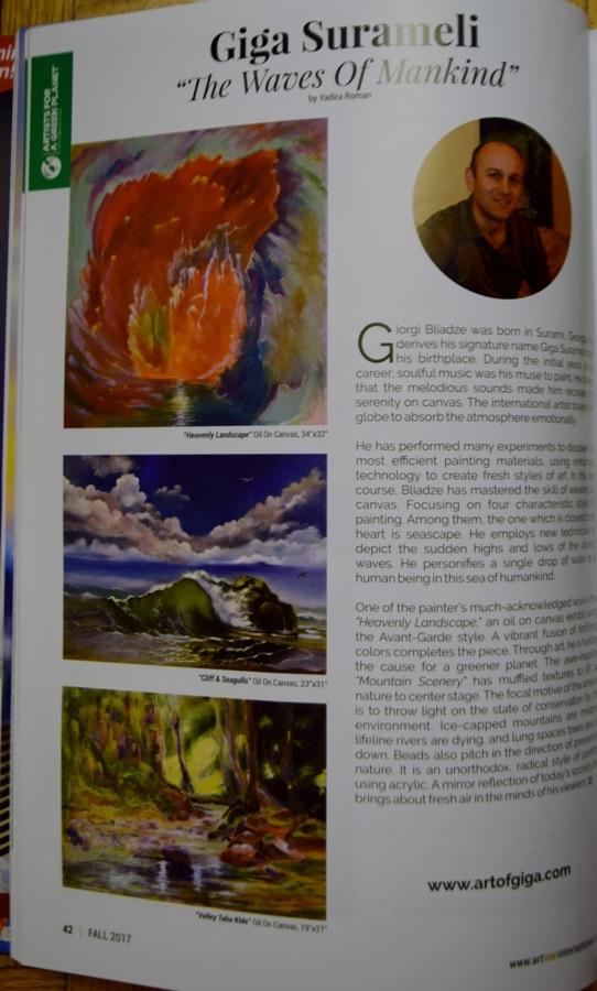 art tour international magazine