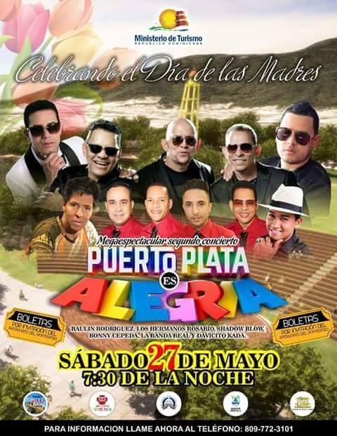 Los Hermanos Rosario dejaránsu corazón musical en el Anfiteatro Puerto Plata