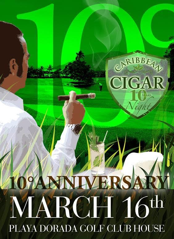 Playa Dorada Caribbean Cigar Night celebrará su décima versión en Puerto Plata