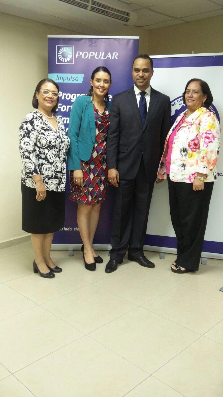 Cámara de Comercio de Puerto Plata, Airen y el Banco Popular Dominicano auspician charla sobre Ventas Inteligentes