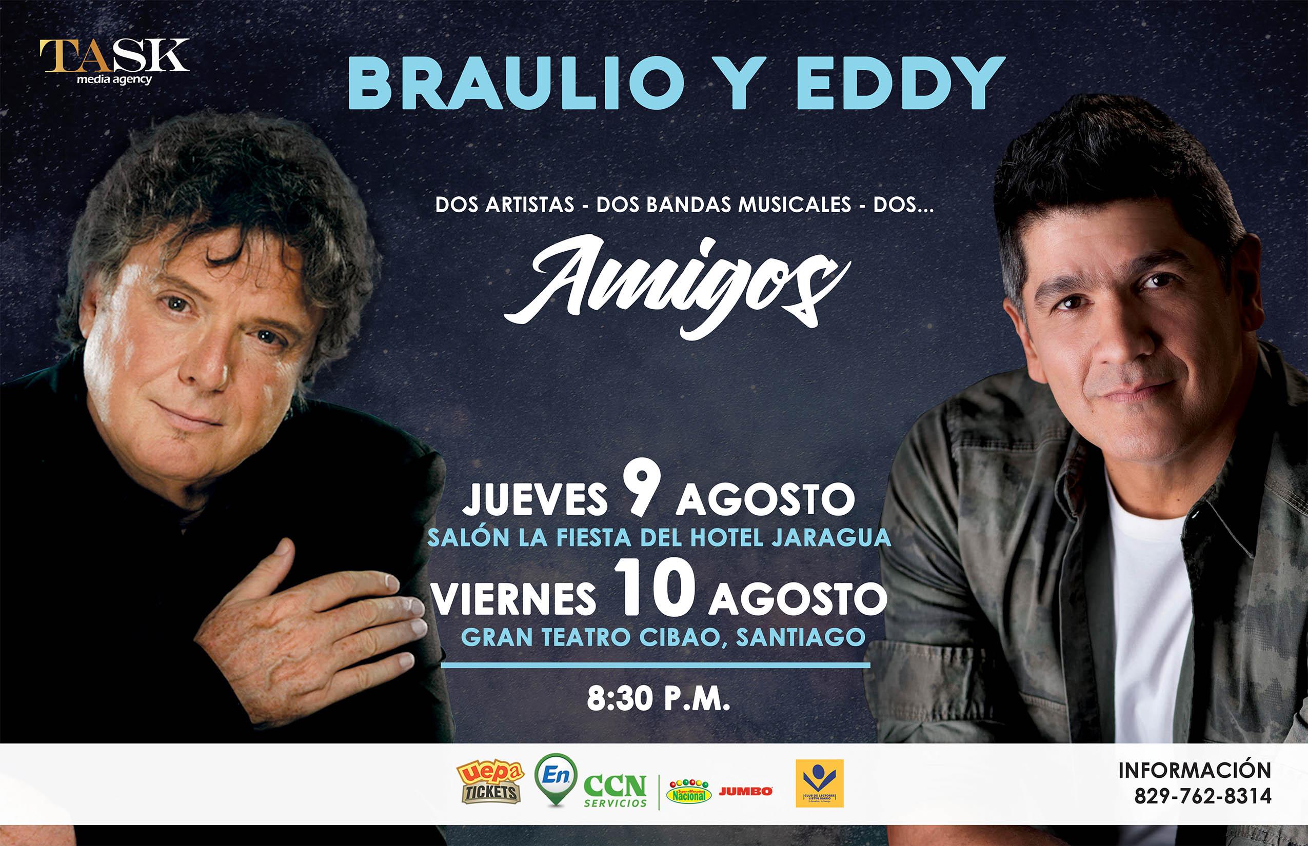Braulio y Eddy JUNTOS