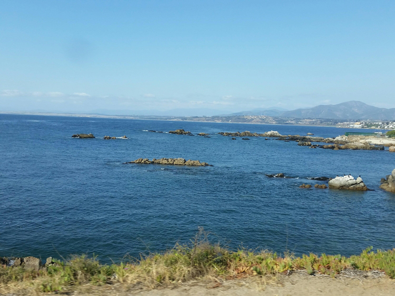 Playa Concón región Chile.