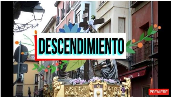Oficial Procesión del Santo Entierro León, España