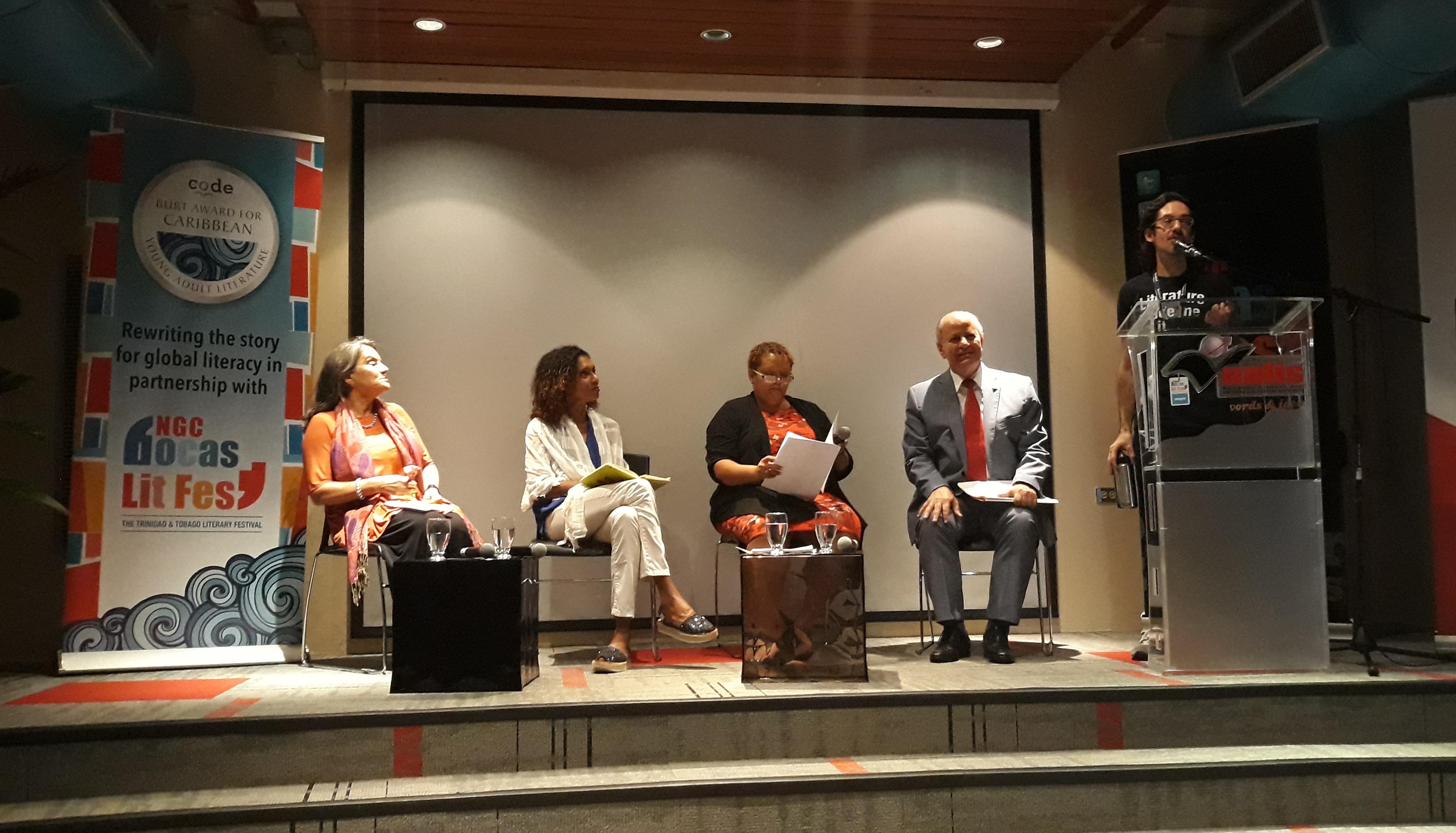 RD participa en el Festival de Literatura en Trinidad y Tobago
