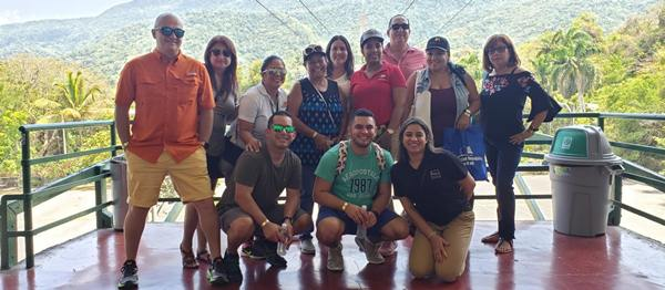 Agentes de viaje de Puerto Rico conocen atractivos