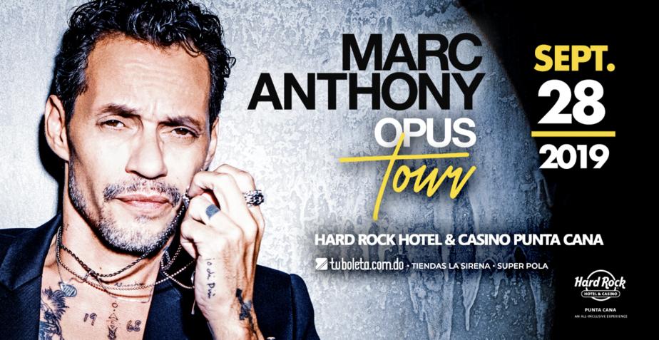 """Marc Anthony regresa al país con su """"Opus Tour"""""""