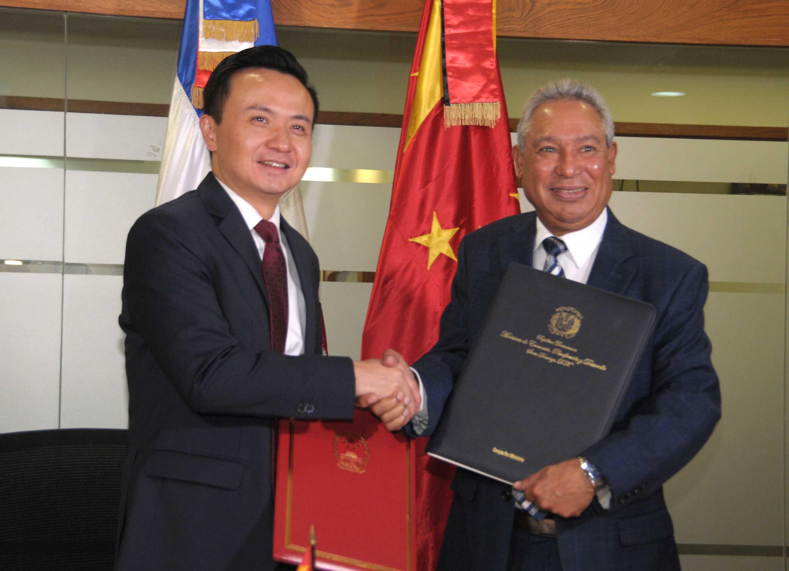RD y China unidas para contrarrestar la sequía