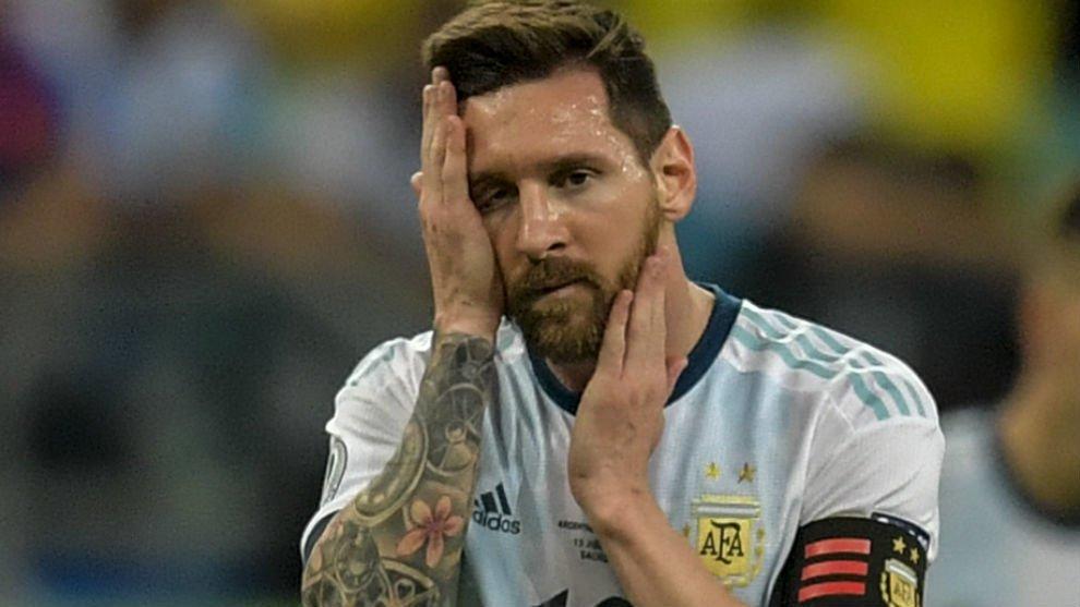 Argentina pierde primero en la Copa América