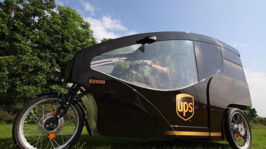 UPS integrará envíos a través de bicicletas eléctricas