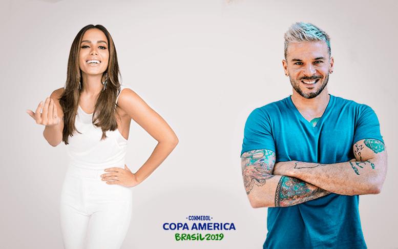 Anitta y Pedro Capó cerraran   Copa América Brasil 2019