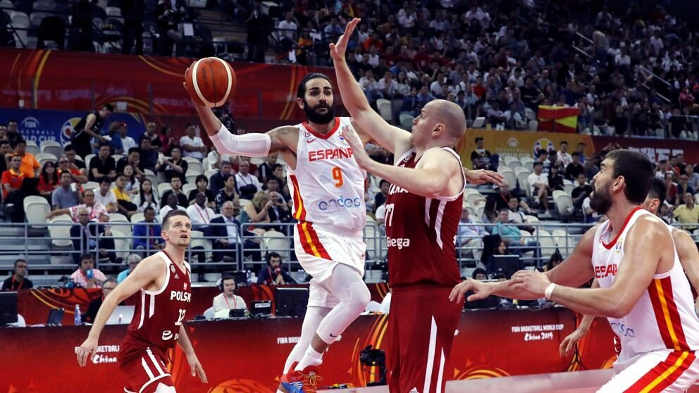 España clasifica a semifinales del mundial de Baloncesto.