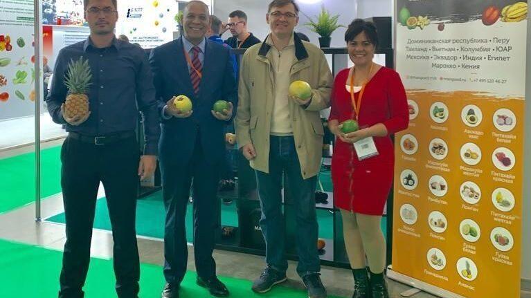 Embajador RD confía comercio con Rusia siga creciendo