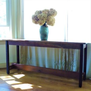 Revival Designs Black Walnut Accent Table