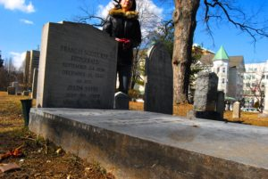 burial site of F Scott Fitzgerald