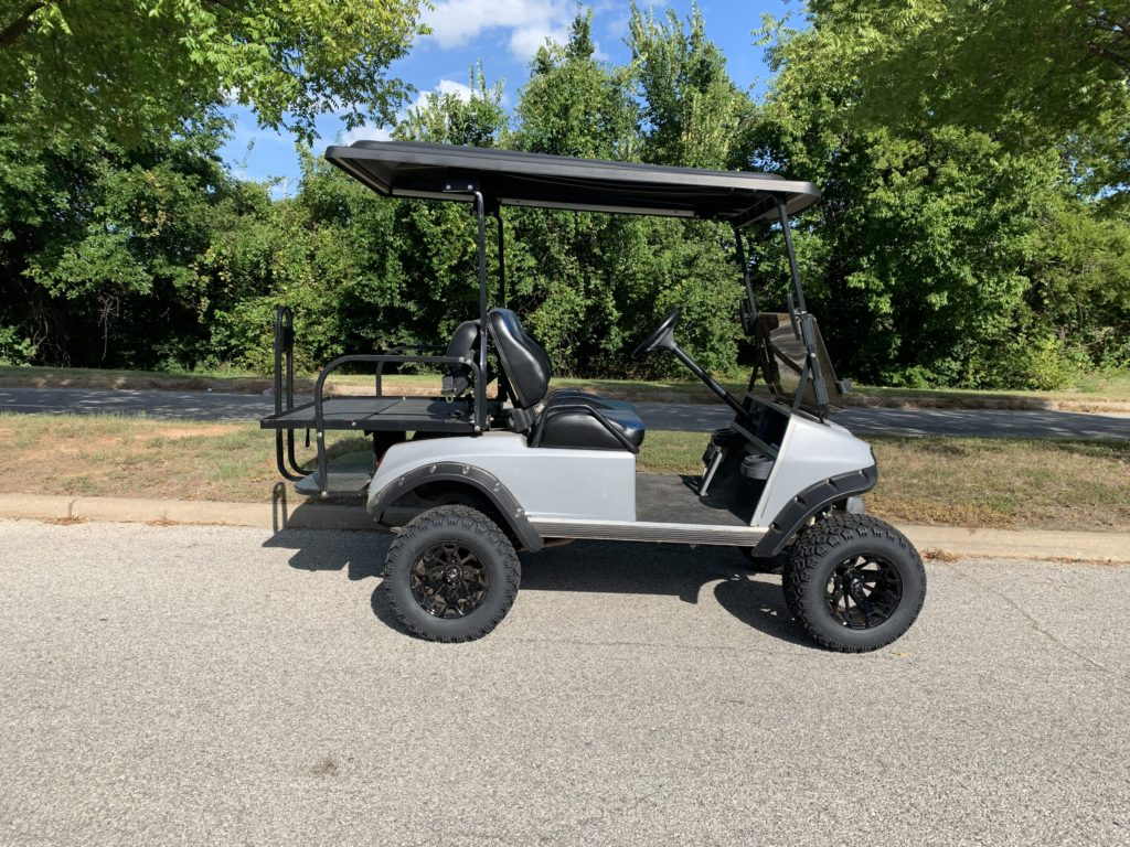 2005 Club Car DS Gas Silver