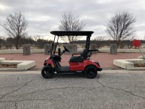 2020 Yamaha Drive2 EFI QuieTech Gas Special Edition Arsenal Red