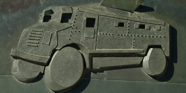 Armored Vehicle from the Castel