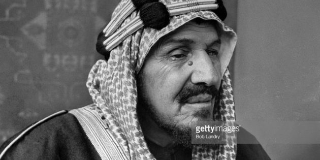 1925 King Ibn Saud of Arabia